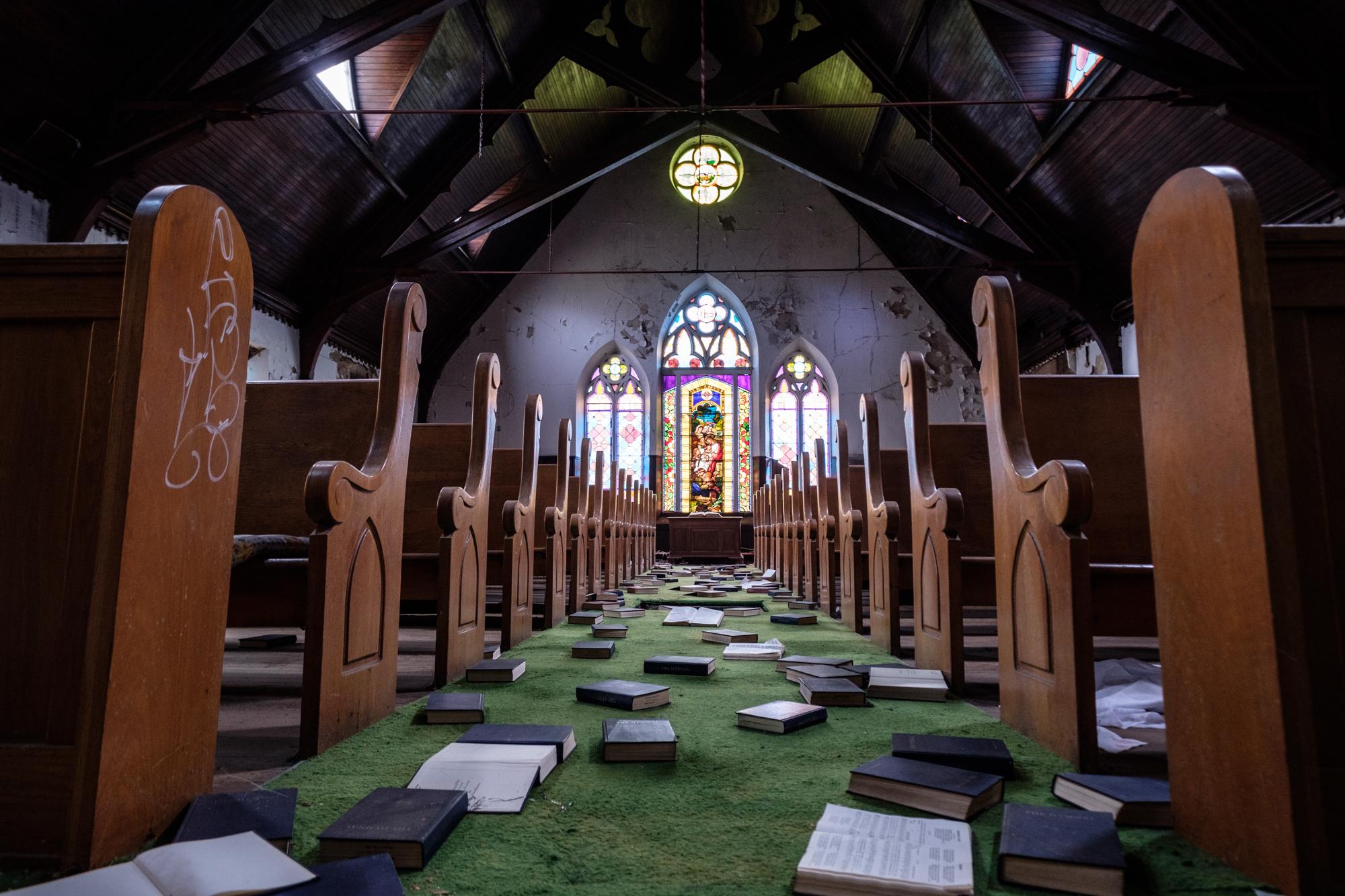 Aisle of Hymns