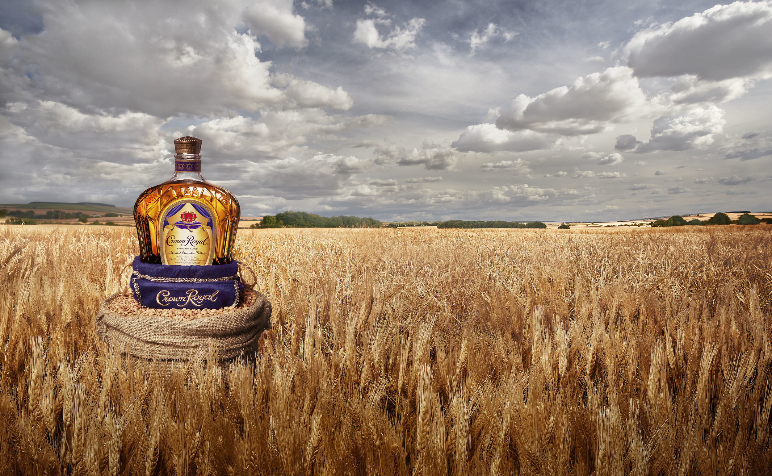 Client • Crown Royal  Agency • Grey  Creative Director • Stu Mair  Art Director • Ryan Hoelting / Han Lin  Photography •Chris Gordaneer   Retouching and Compositing • Brad Pickard