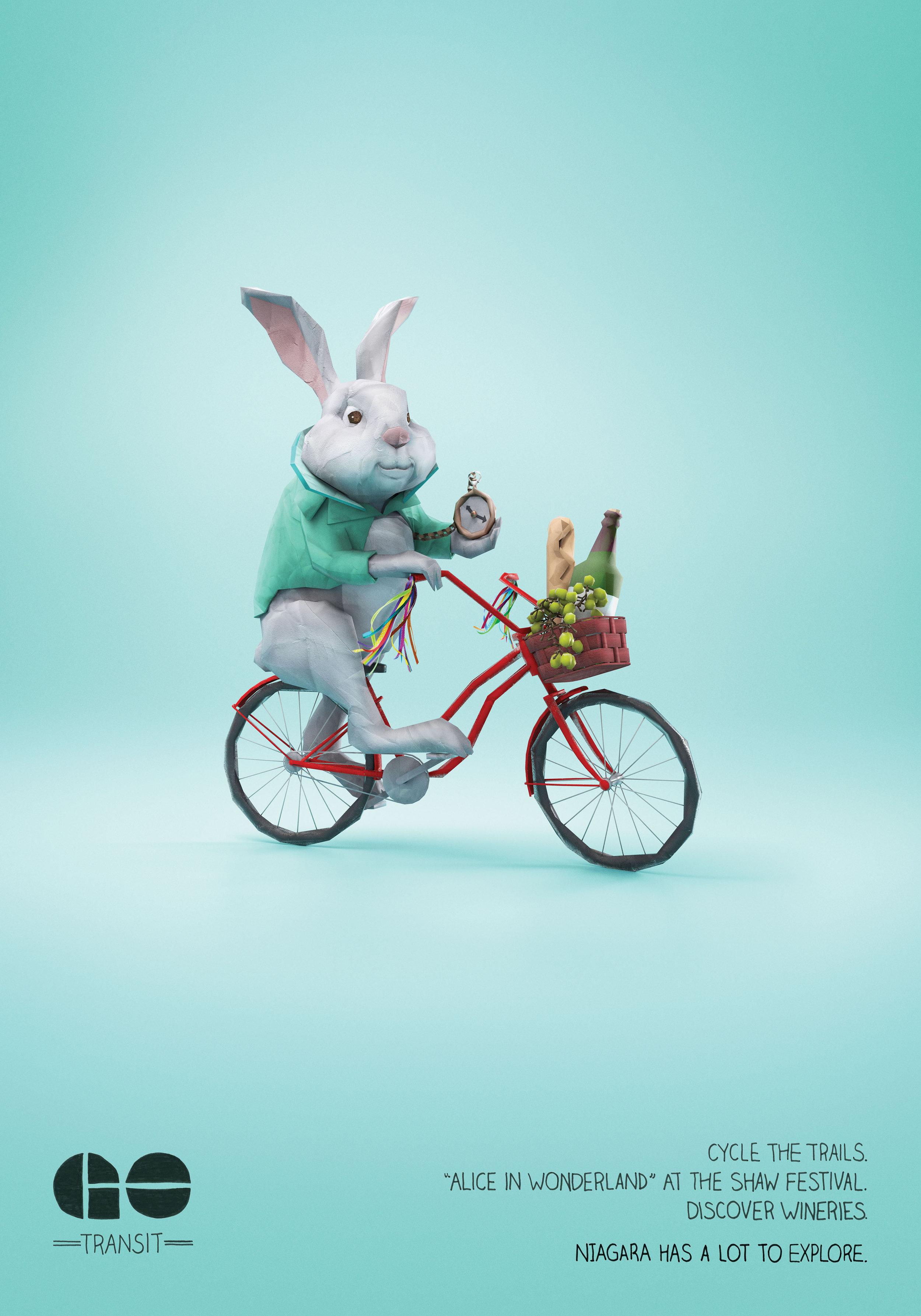 Applied Arts Photo / Illustration award winner   Client • Go Transit  Agency • DDB Canada  Art Director • Becky May  CGI • Brad Pickard