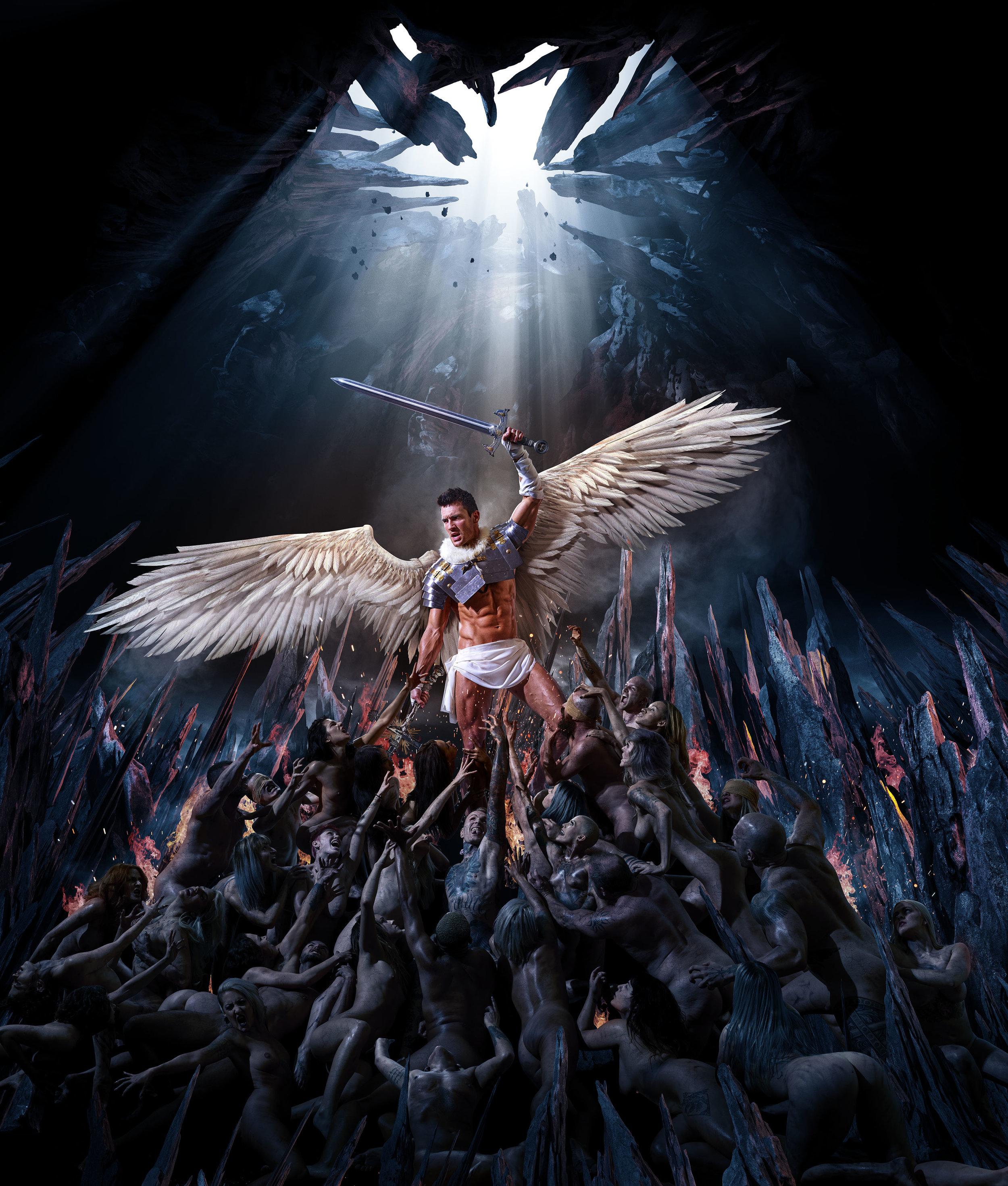 St. Michael  Photographer • Matt Barnes  CGI and Compositing • Brad Pickard