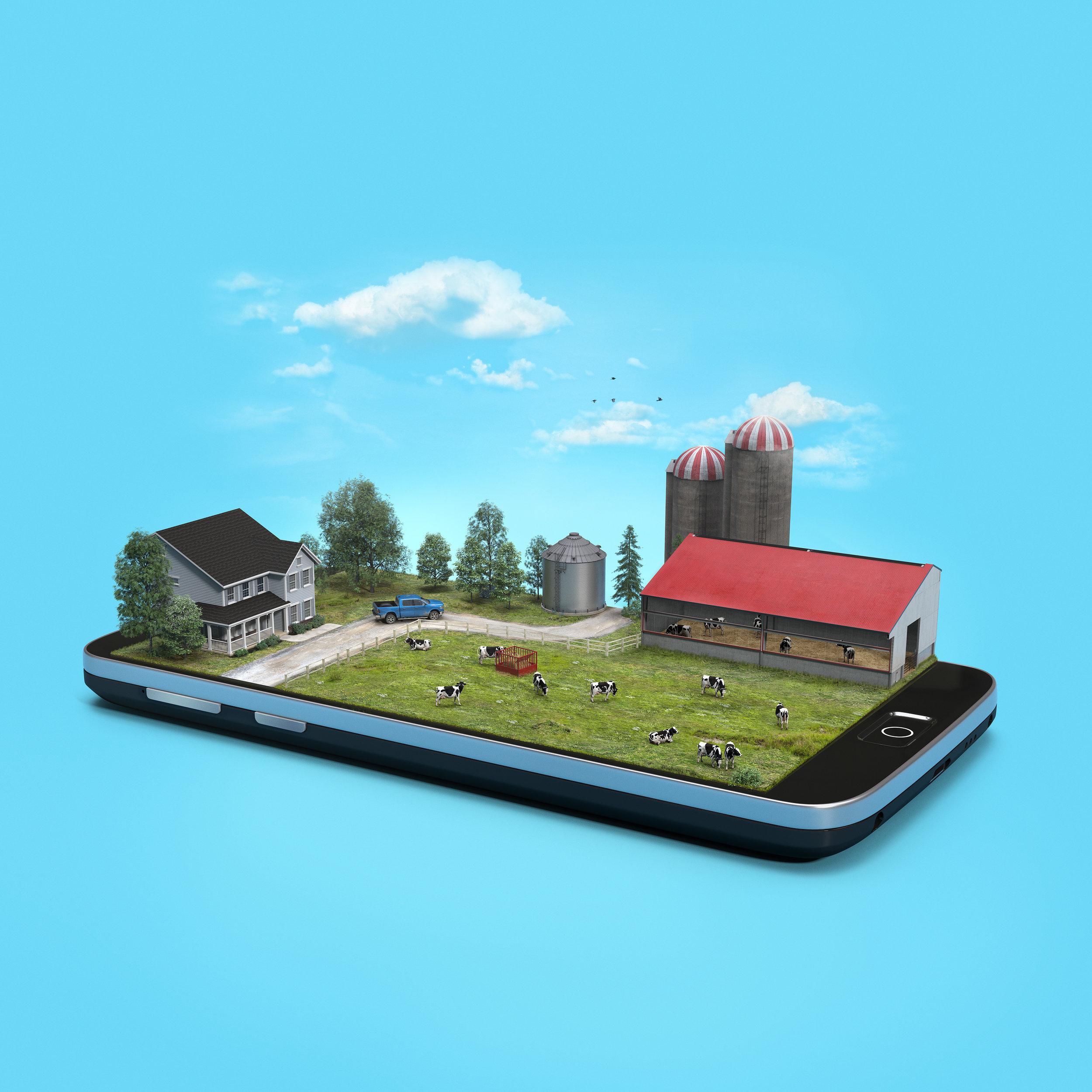 Client • Dairy Farmers of Canada  Agency • DDB Canada  Art Director • George Lin  CGI • Brad Pickard