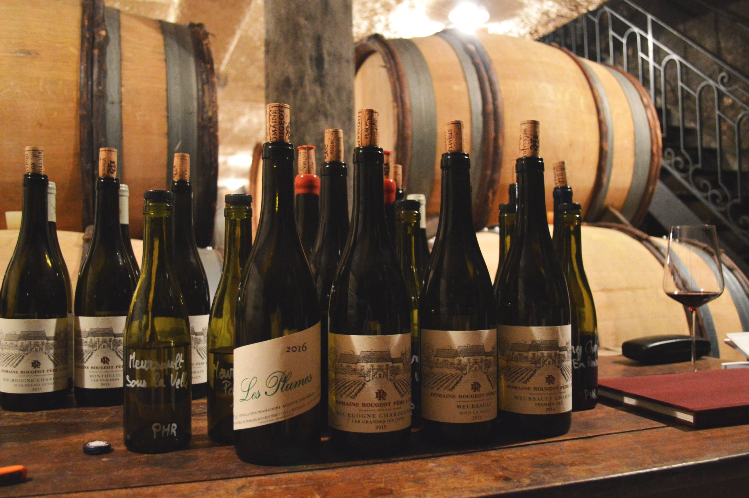 A tasting treat at Domaine Rougeot