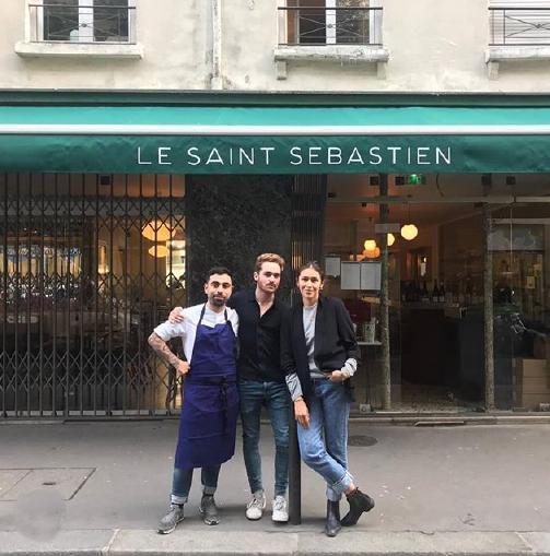 Chef Rob Mendoza, Sommelier Bastien Fidelin, Owner Daniela Lavadenz
