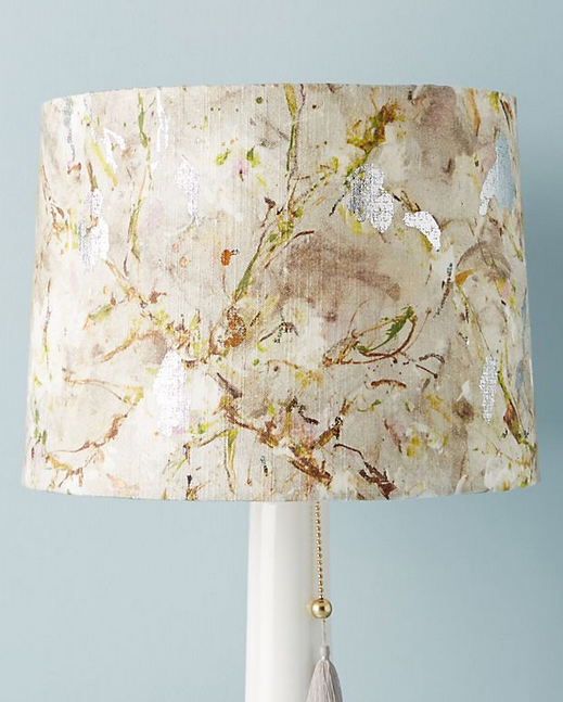 'Rites of Spring' Fabric Lampshade