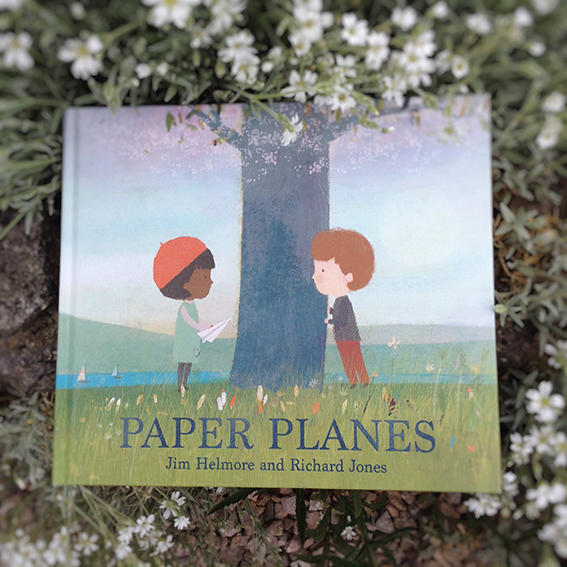 Paper Planes  is our sort-of follow up book to  The Snow Lion  which published in the autumn of 2017. Jim's stories always seem to radiate such warmth and sensitivity and Paper Planes is no exception. I loved it from the first reading.