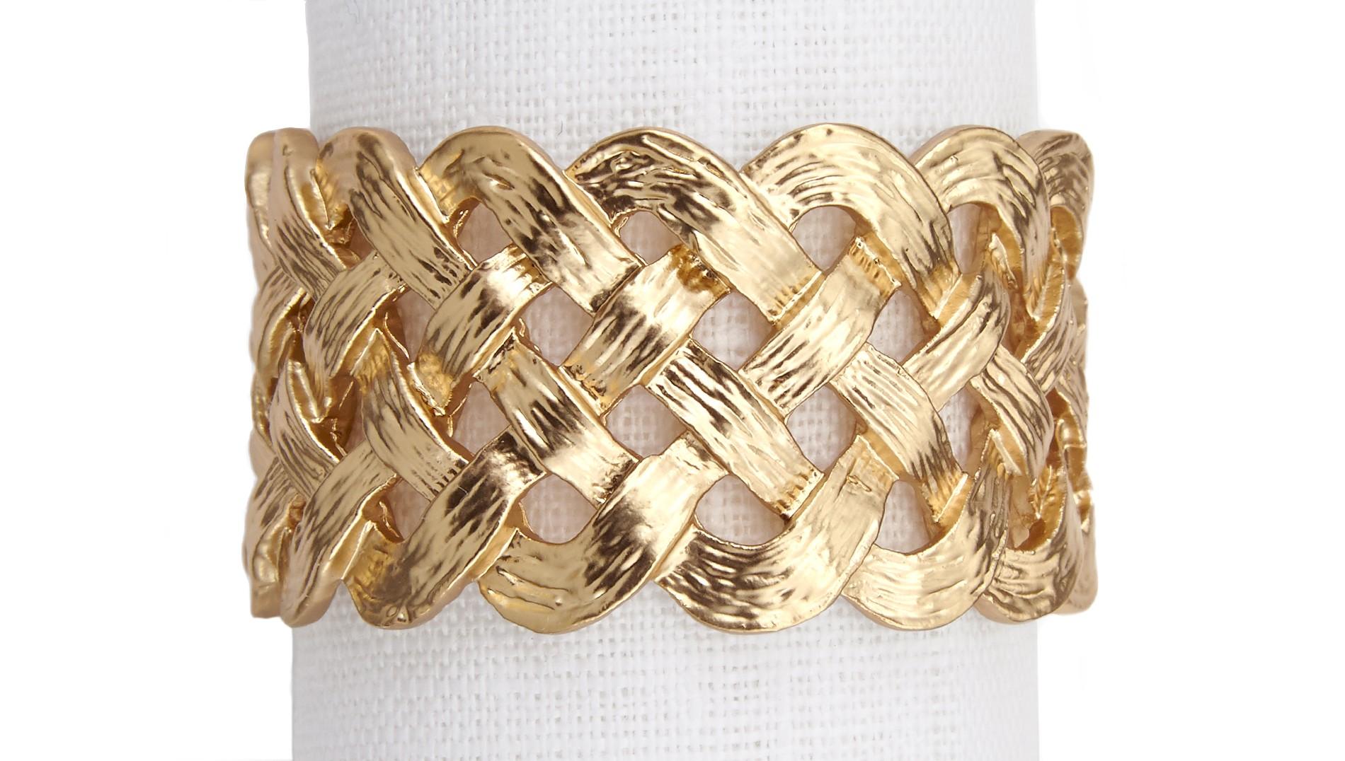 Golden Rule - Napkin rings by L'Objet | MSH Agency.jpg