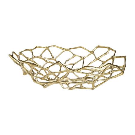 Golden Rule - Bone bowl in brass by Tom Dixon | MSH Agency.jpg