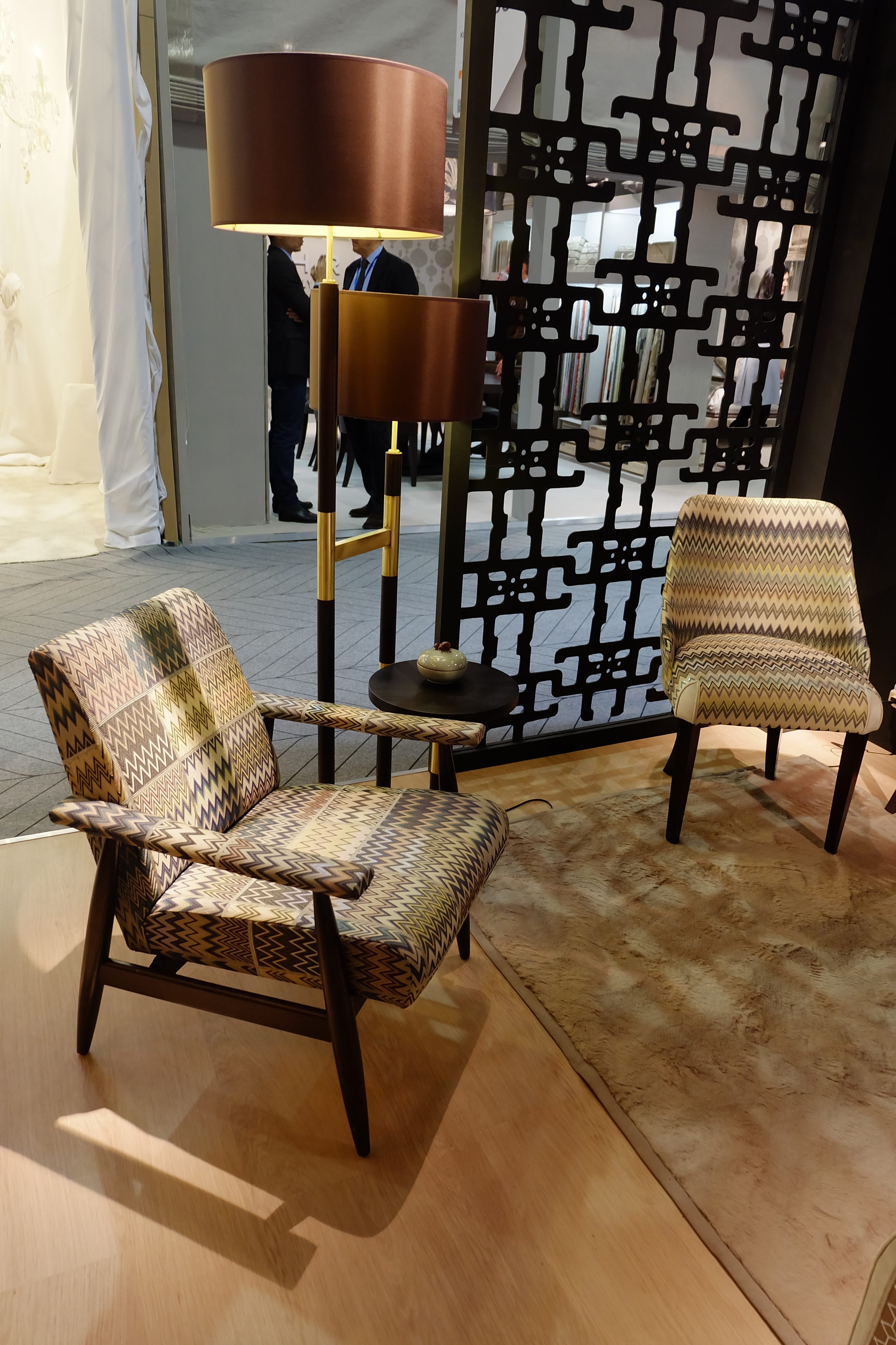 Maison & Objet 2016 Highlights - Brass detailing is an elegant addition to a contemporary interior design scheme | MSH Agency