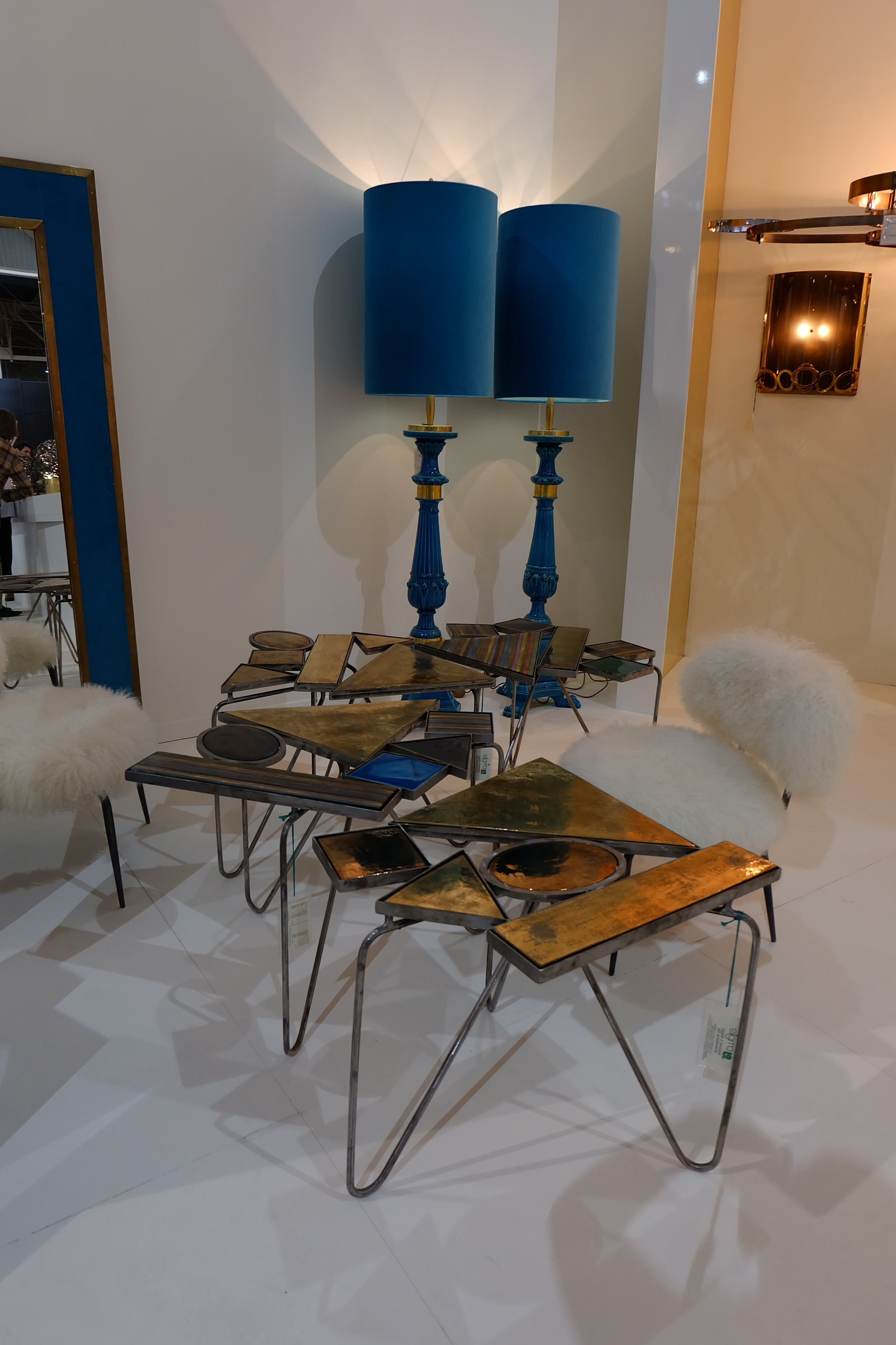 Maison & Objet 2016 Highlights - Side table with bronze feet | MSH Agency