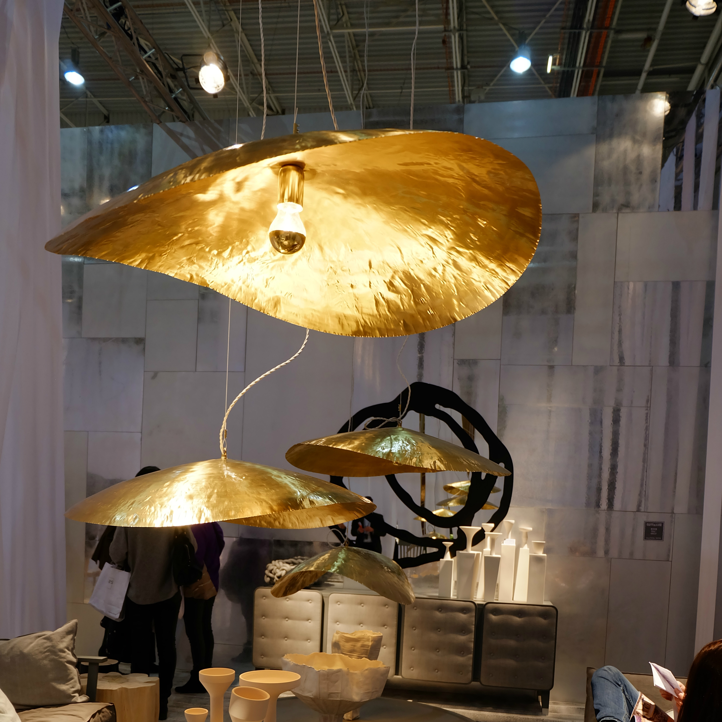 Maison & Objet 2016 Highlights - Lighting fixture with rich gold finish | MSH Agency