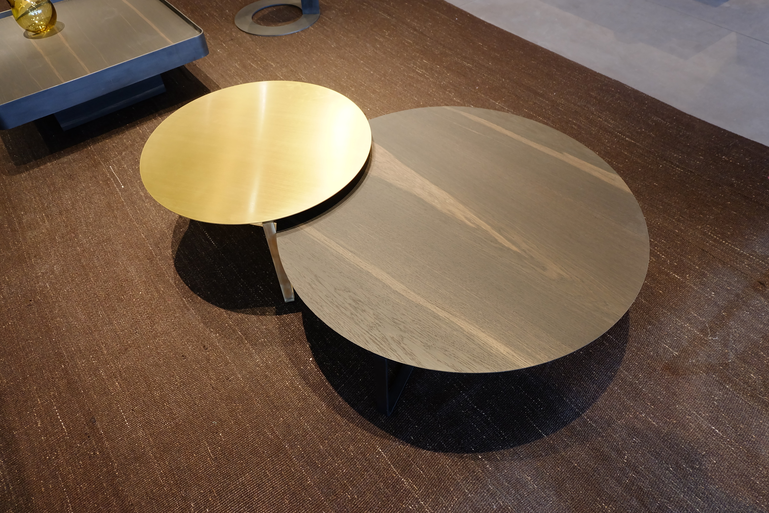 Maison & Objet 2016 Highlights - Brass and Walnut veneer is a perfect match for contemporary interior design scheme | MSH Agency