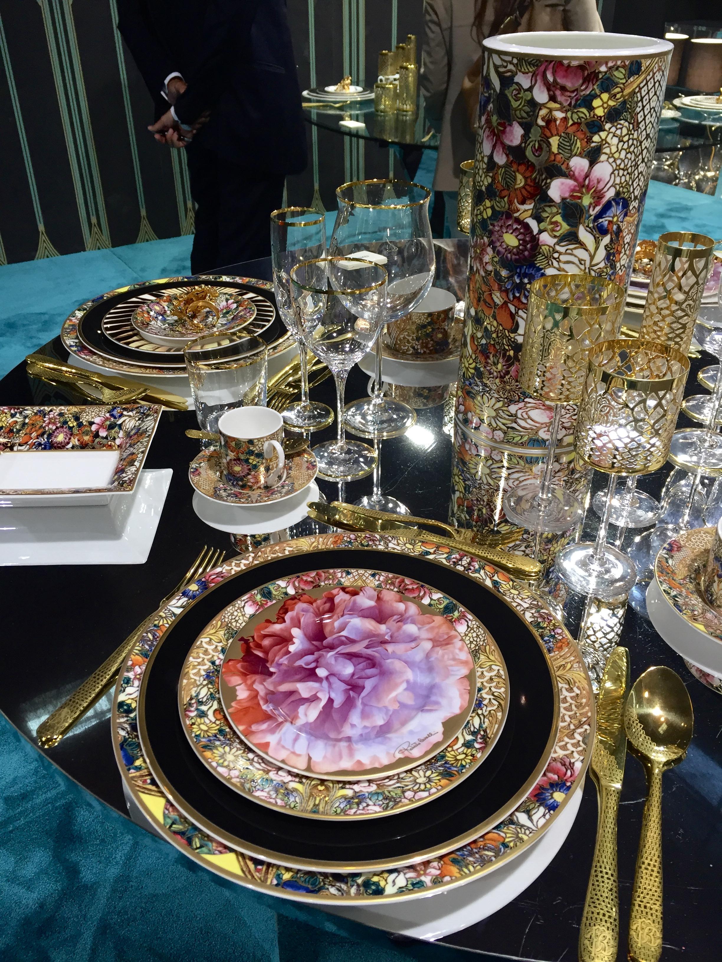 Maison&Objet 2016 September edition - Roberto Cavalli luxury tableware | Masha Shapiro Agency.jpg