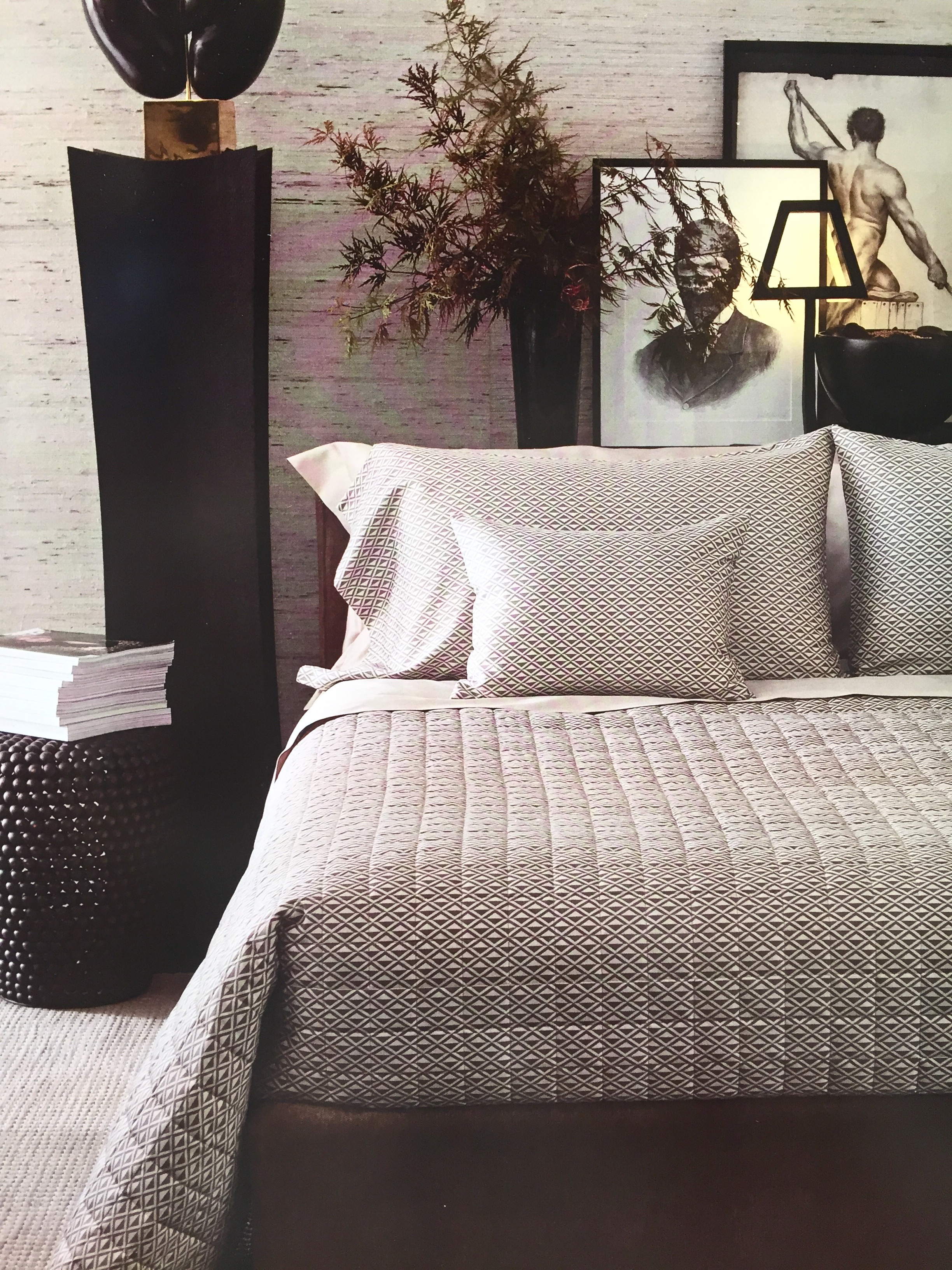 Maison&Objet 2016 September edition - Blumarine contemporary Art Deco in bed linen | Masha Shapiro Agency.jpg