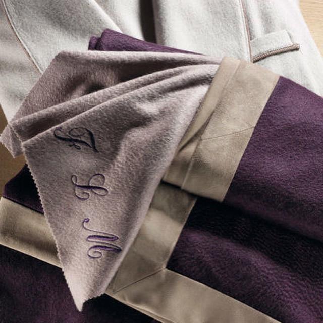 Interiors Advent Calendar - Loro Piana cashmere blankets and throws with bespoke detailing Christmas gift @ Masha Shapiro Agency.jpg
