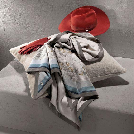 Interiors Advent Calendar - Loro Piana cashmere scarf gift - Demi Carré Il Giardino Dei Fiori Di Cristallo @ Masha Shapiro Agency.jpg