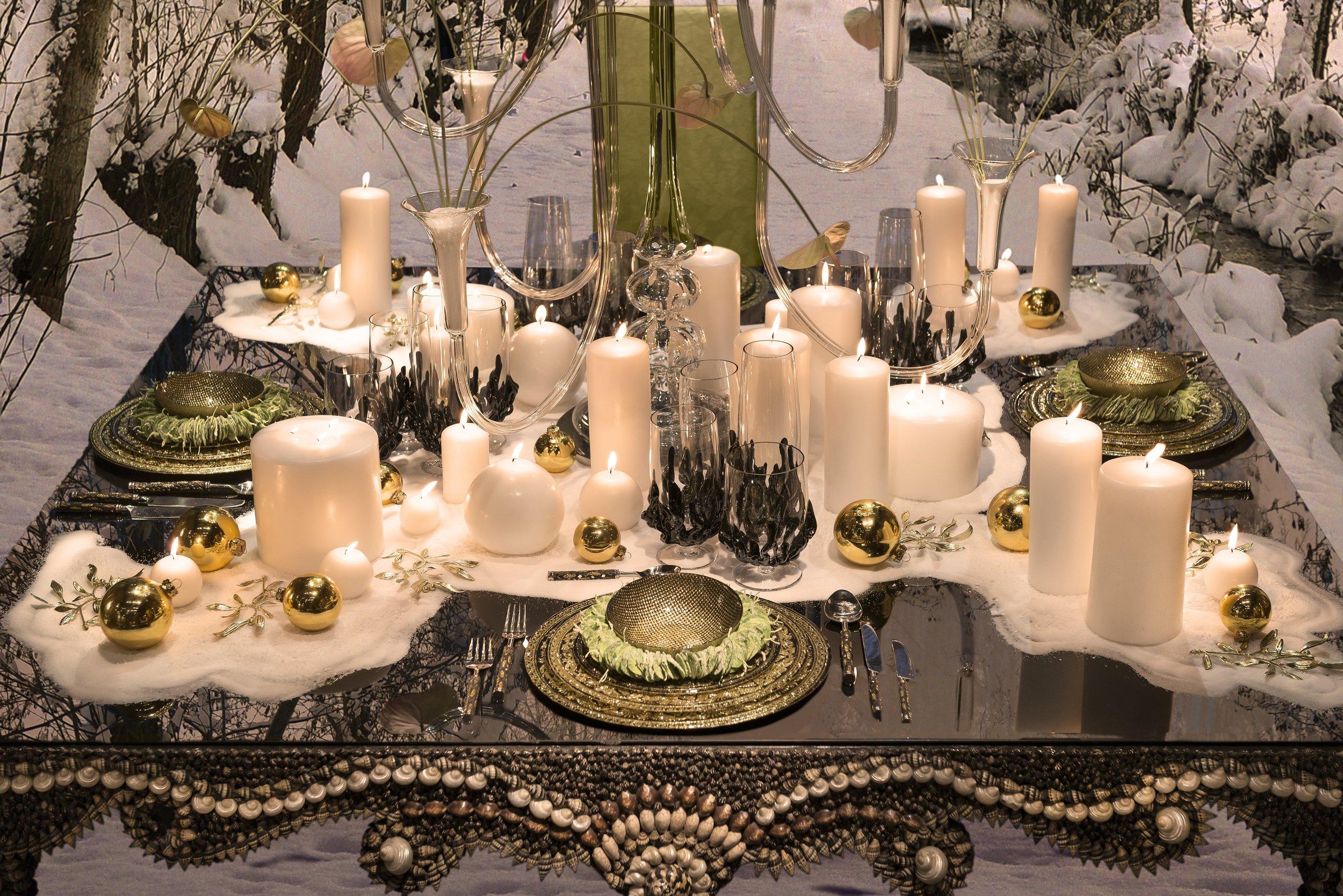 Interiors Advent Calendar - Christmas dining table by VG New Trend @ Masha Shapiro Agency.jpg