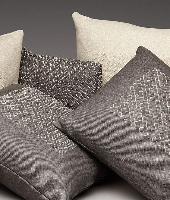 Interiors Advent Calendar - Bottega Veneta cushions @ Masha Shapiro Agency.jpg