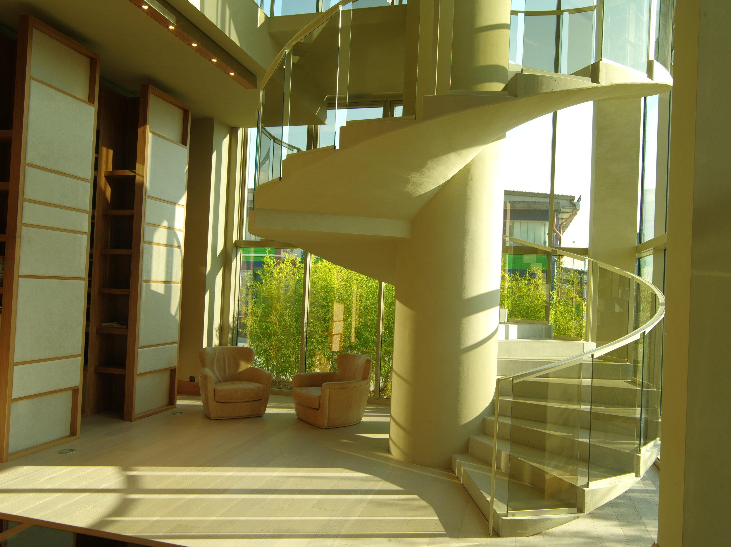 Ulivi Salotti office entrance - An Ode to Leathers - Masha Shapiro Agency.JPG