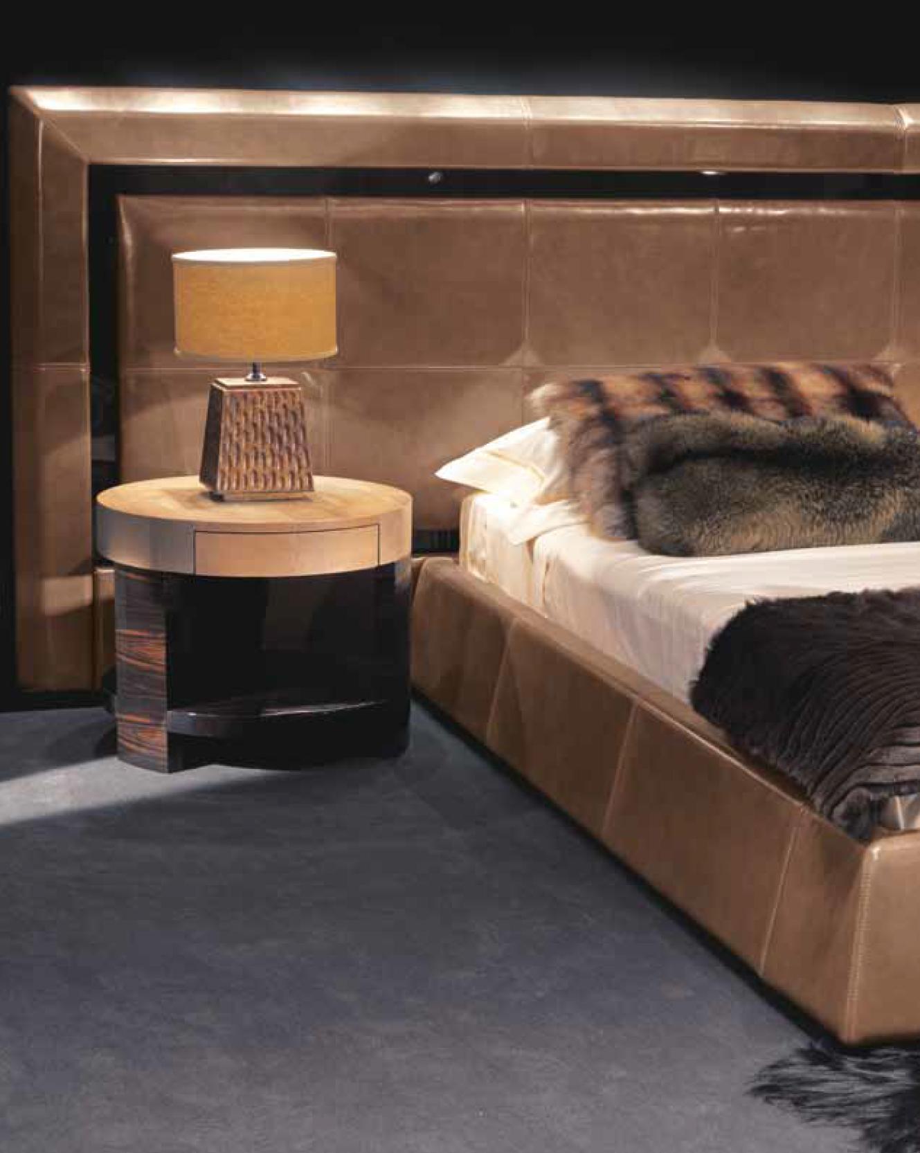 Ulivi Salotti Bedroom - An Ode to Leathers @ Masha Shapiro Agency.jpg