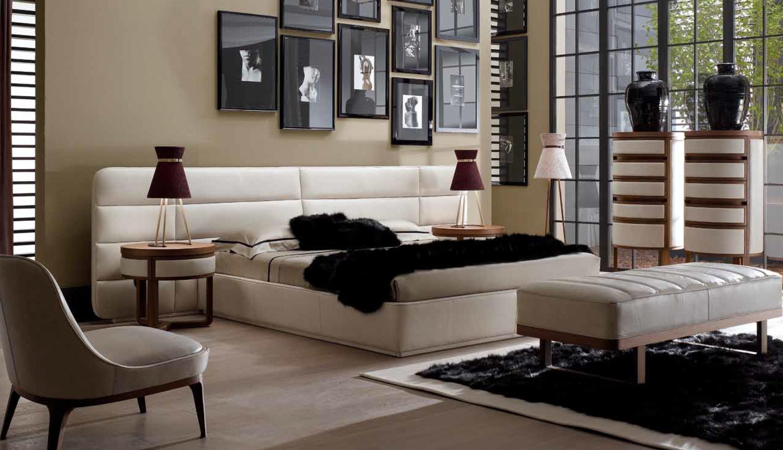 Ulivi Salotti Infinity Bedroom - An Ode to Leathers @ Masha Shapiro Agency.jpg