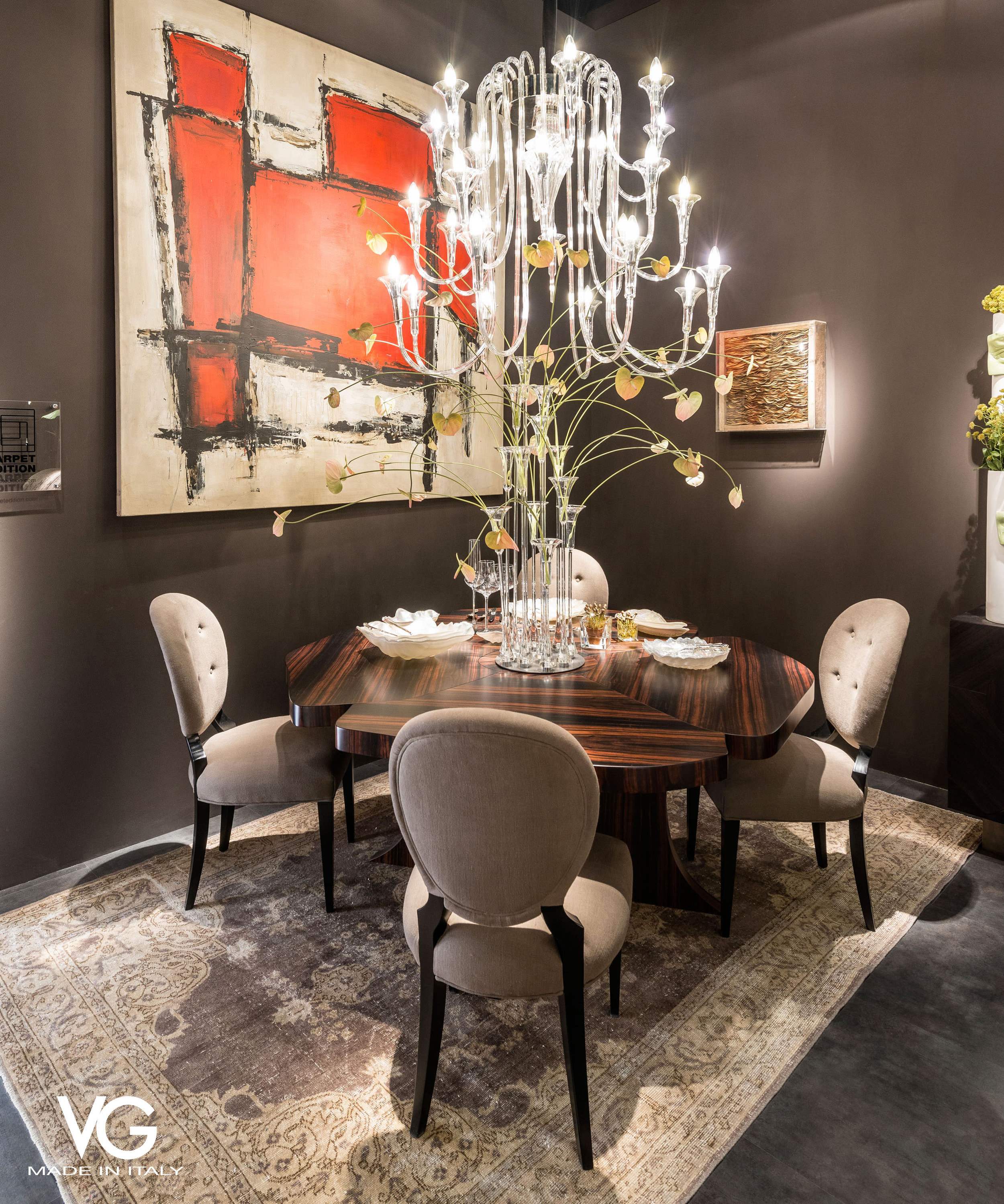VG New Trend - dining area during the Salone del Mobile in Milan - Masha Shapiro Agency.jpg