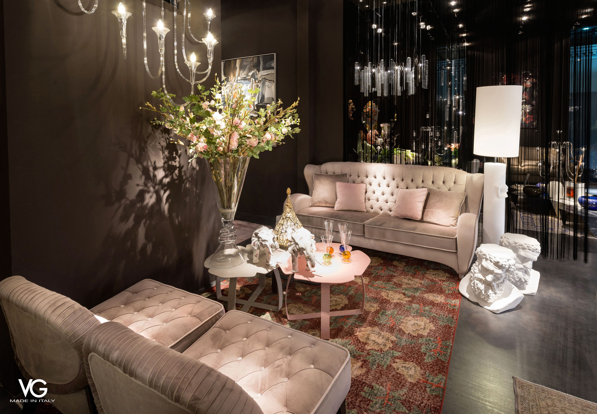 VG New Trend - seating area during the Salone del Mobile in Milan - Masha Shapiro Agency.jpg