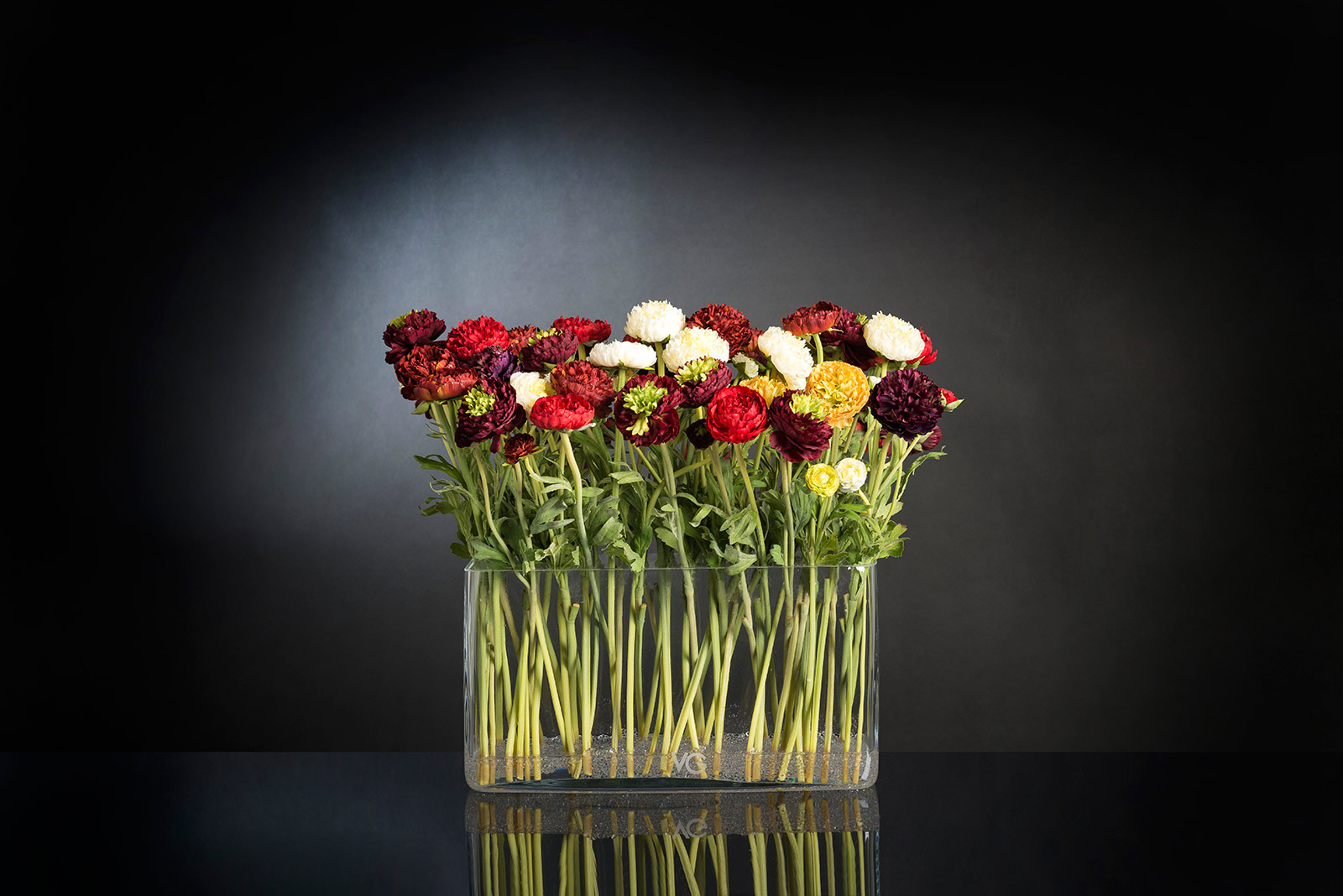 Flower arrangement with artificial flowers for interior decorating, wedding & events, home decor by VG New Trend - Masha Shapiro Agency.jpg