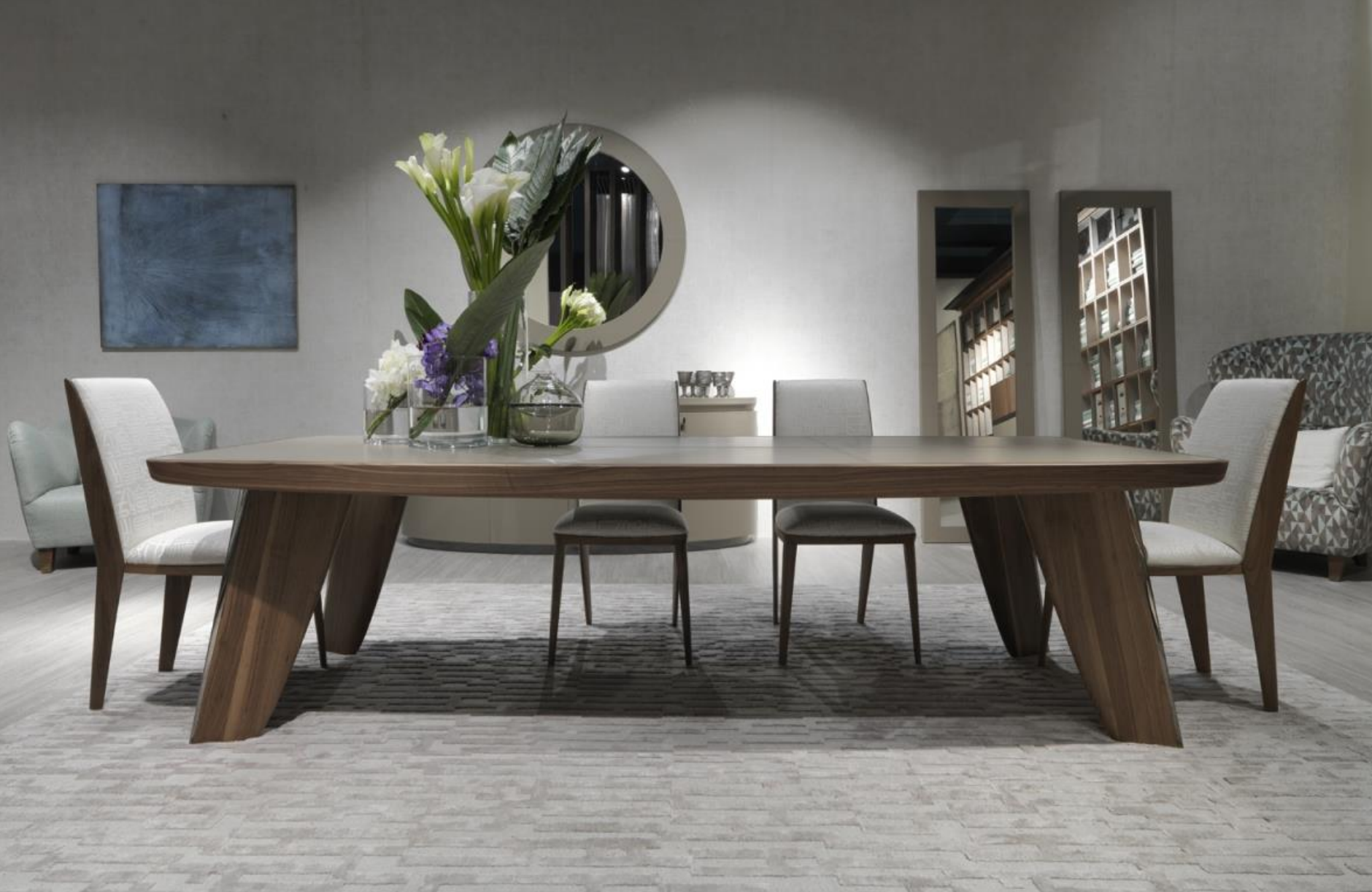 Annibale Colombo dining table from Nautica collection - Masha Shapiro Agency UK.png
