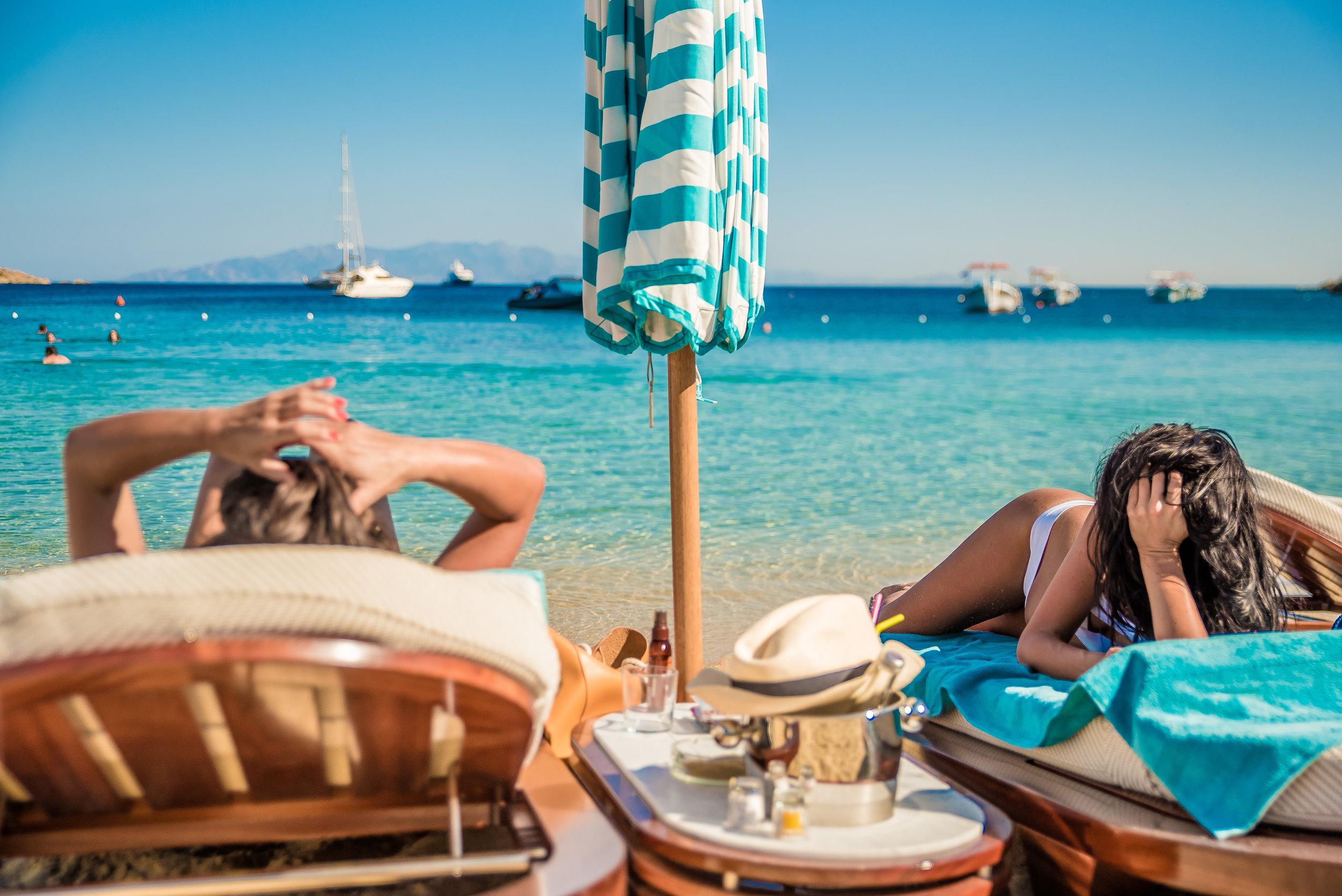 Seora Features In The Best Beach Club In The World Nammos Mykonos Beach 7 - Masha Shapiro Agency UK.jpg
