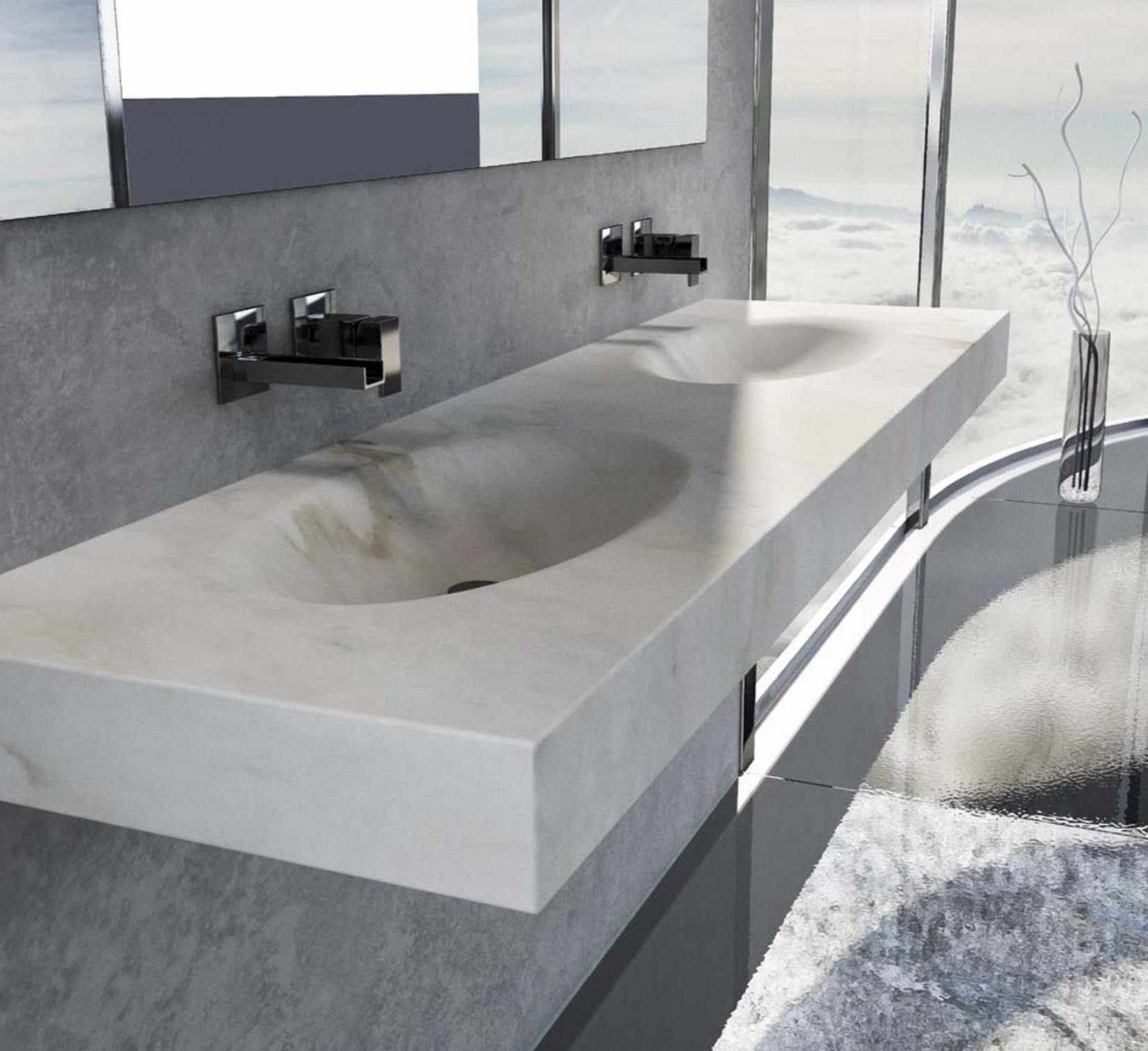 Tech in Interiors - Dedalo Stone - Marble washbasin console - Masha Shapiro Agency UK.png