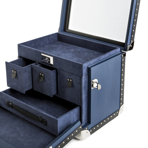 Interiors Advent Calendar - Fine interiors of the Gentleman trunk by Royal Trunk - Masha Shapiro Agency UK.jpg