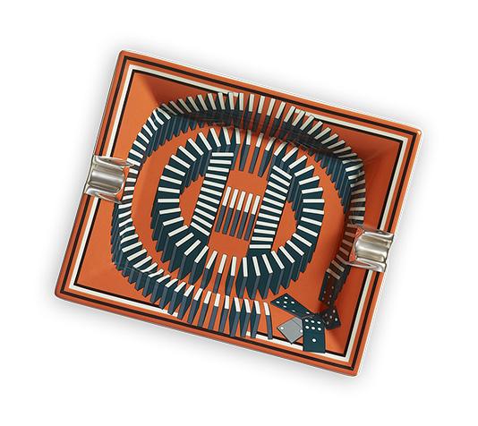Interiors Advent Calendar - L'Effet Domino tray by Hermes - Masha Shapiro Agency UK.jpg