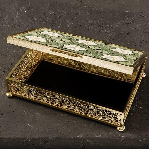 Interiors Advent Calendar - Gigli Luxury Hinged Box by Bianco Bianchi - Masha Shapiro Agency UK.jpg