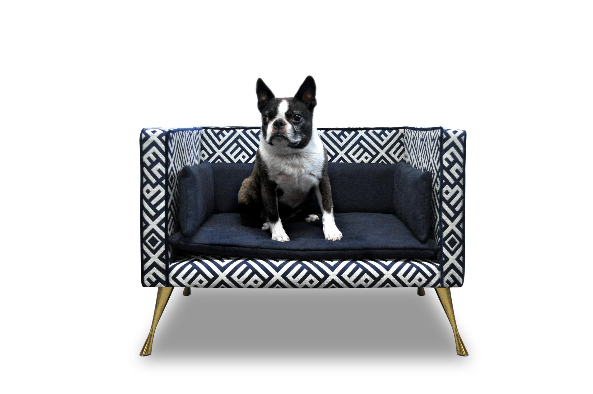 Interiors Advent Calendar - Luxurious dog bed by Savoir Beds - Masha Shapiro Agency UK.jpg
