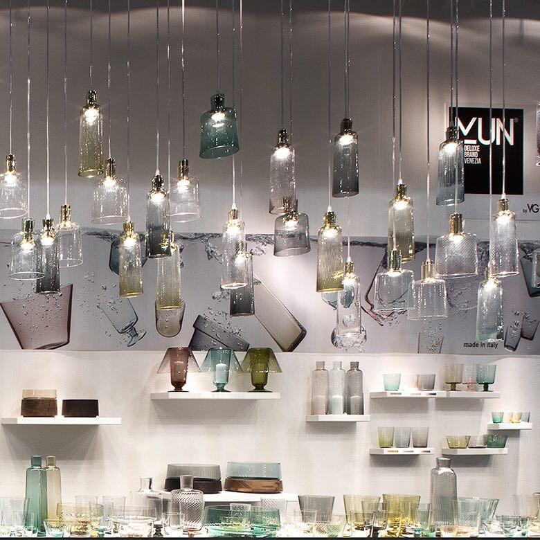 Mun lighting and tableware collection by VG Newtrend at Homi Milano - Masha Shapiro Agency UK.jpg