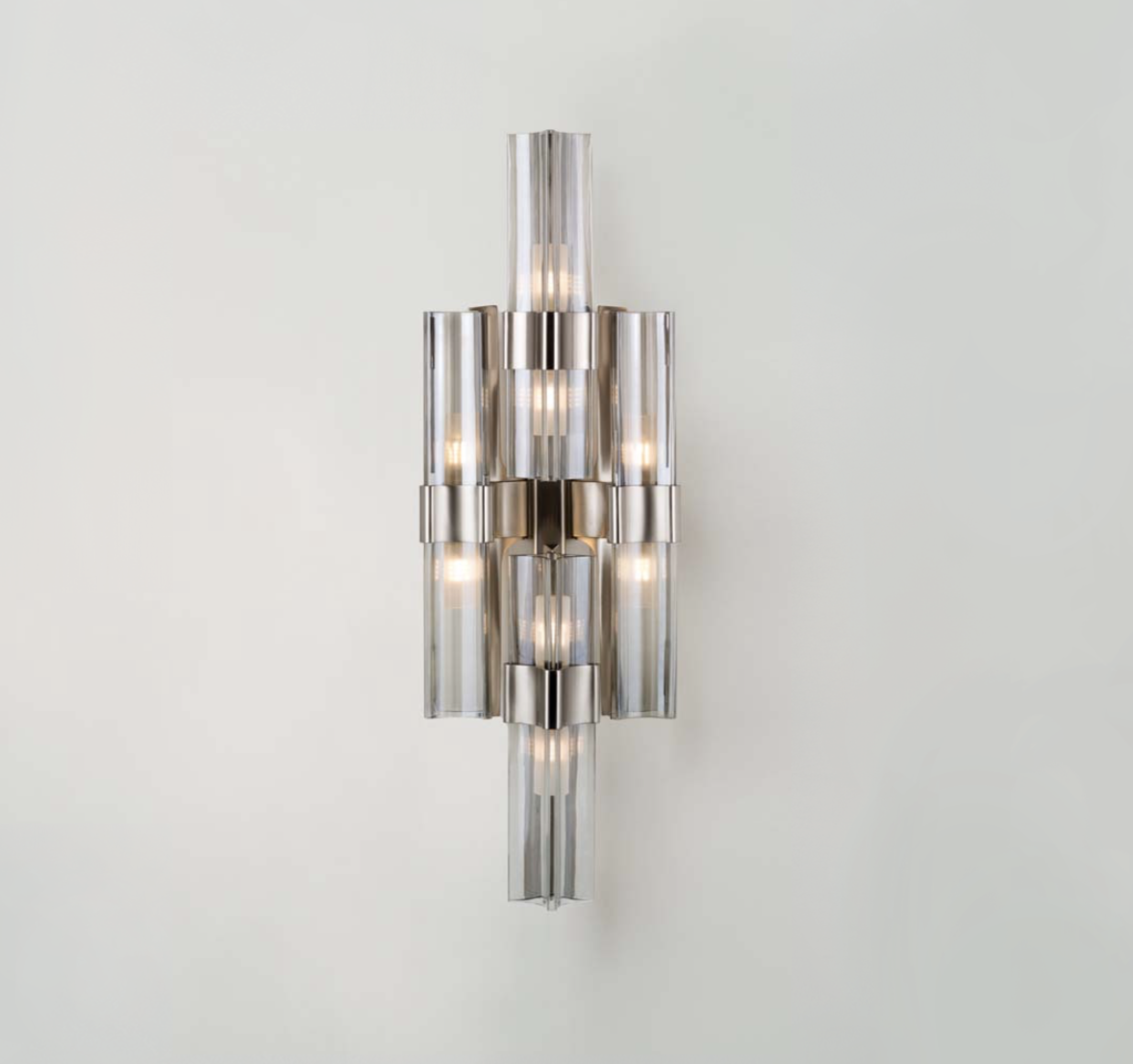 Officina Luce Eterea wall light in polished nickel via Masha Shapiro Agency UK.jpg