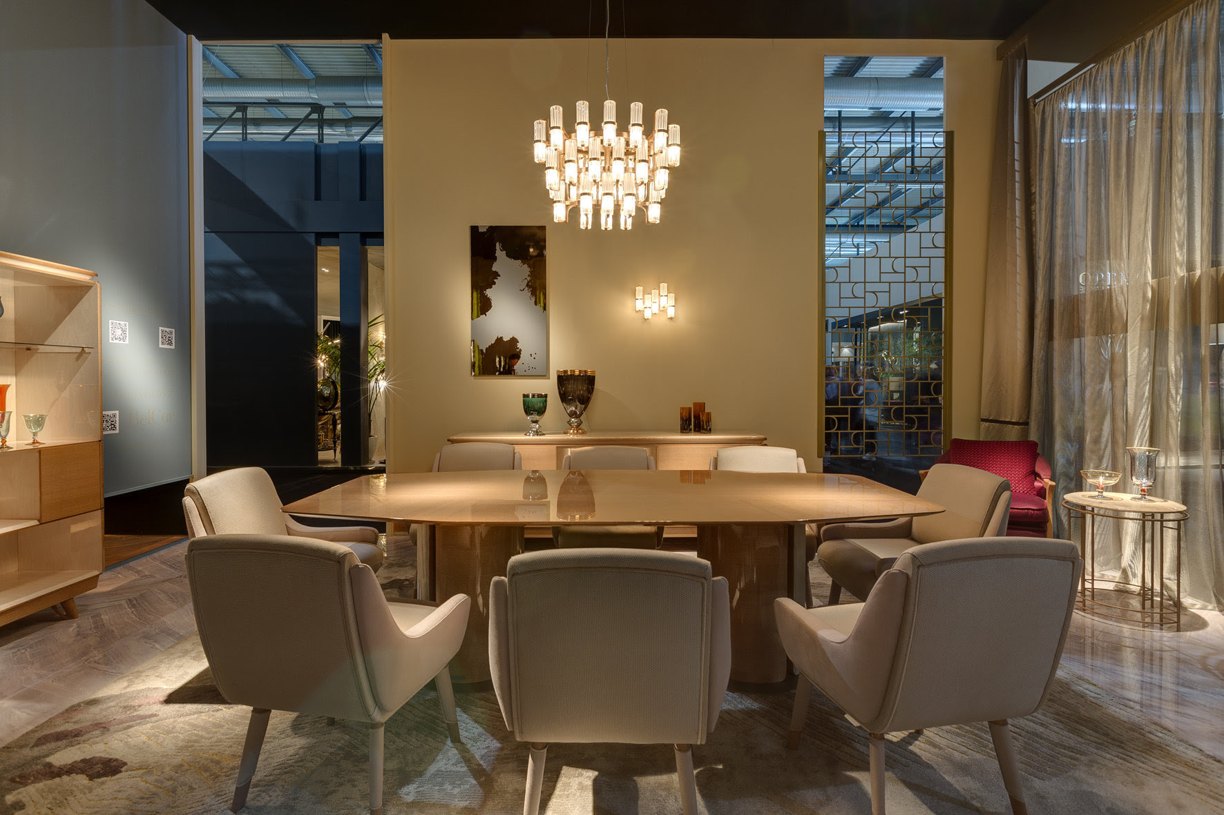 MSH at Salone - Officina Luce Soave collection at Prophilo stand - Masha Shapiro Agency UK.jpg