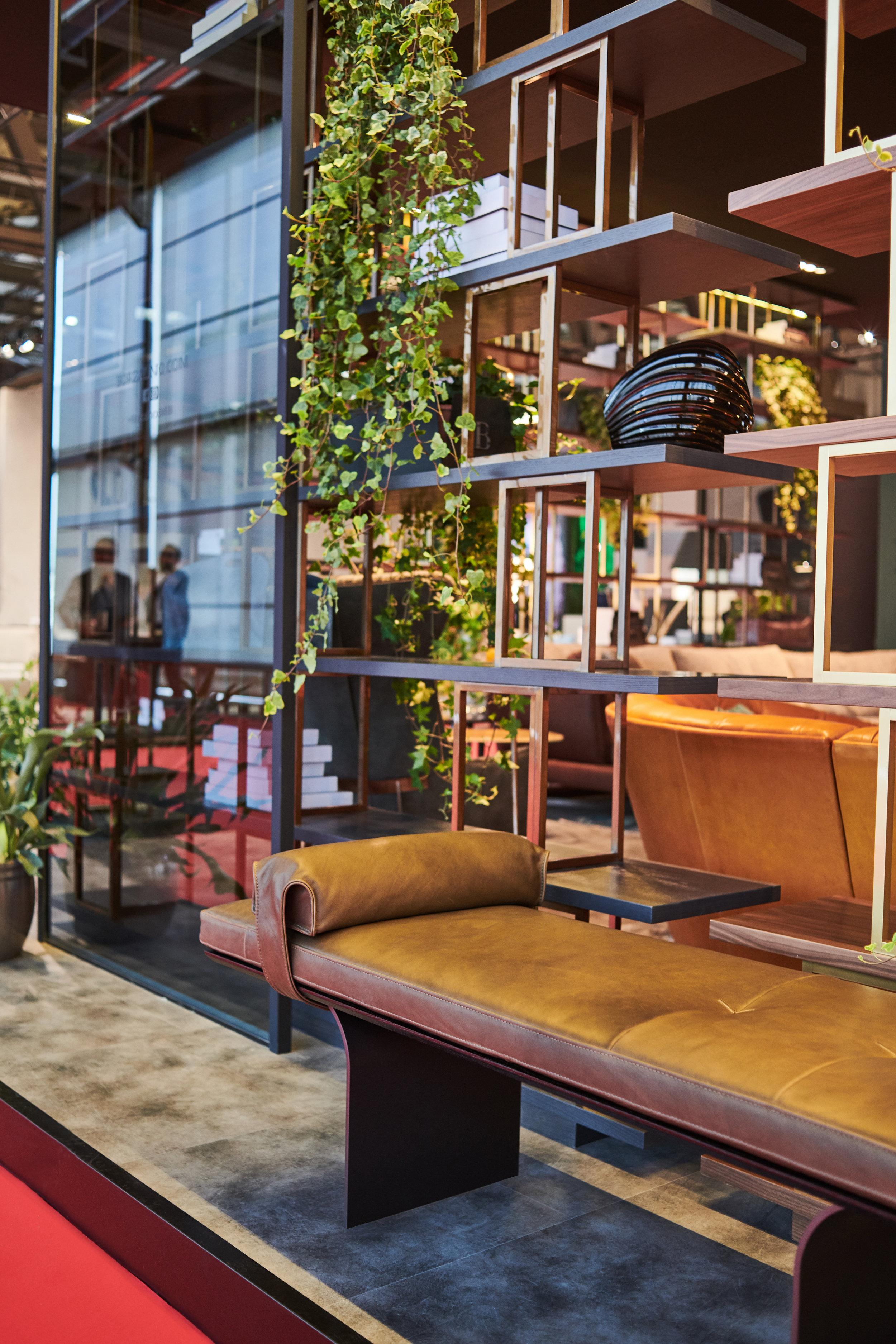 Borzalino leather bench - Masha Shapiro Agency UK .jpg