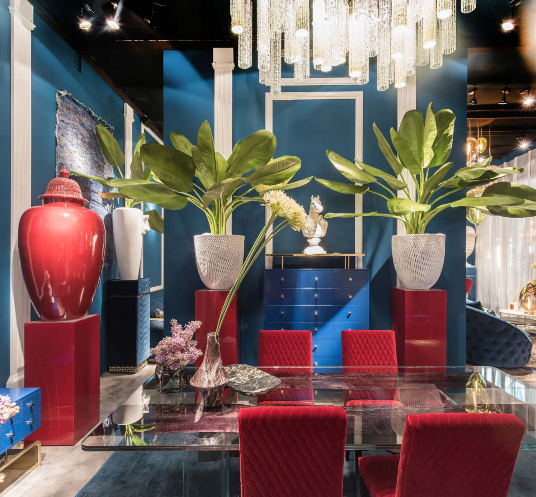 VG New Trend stand at Salone del Mobile 2018 with trendy red and blue - Masha Shapiro Agency UK.png