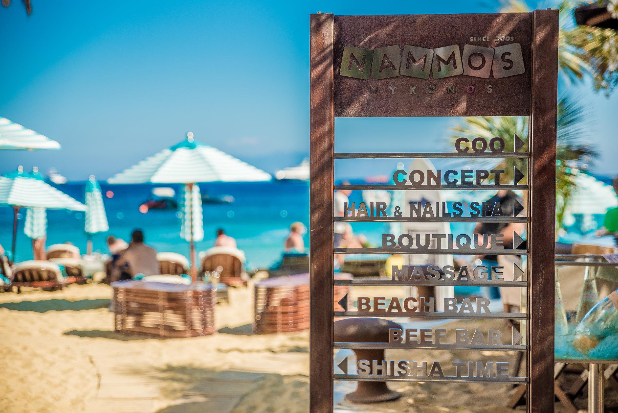 Seora - Nammos Mykonos Beach Club Entrance via Masha Shapiro Agency UK.jpg