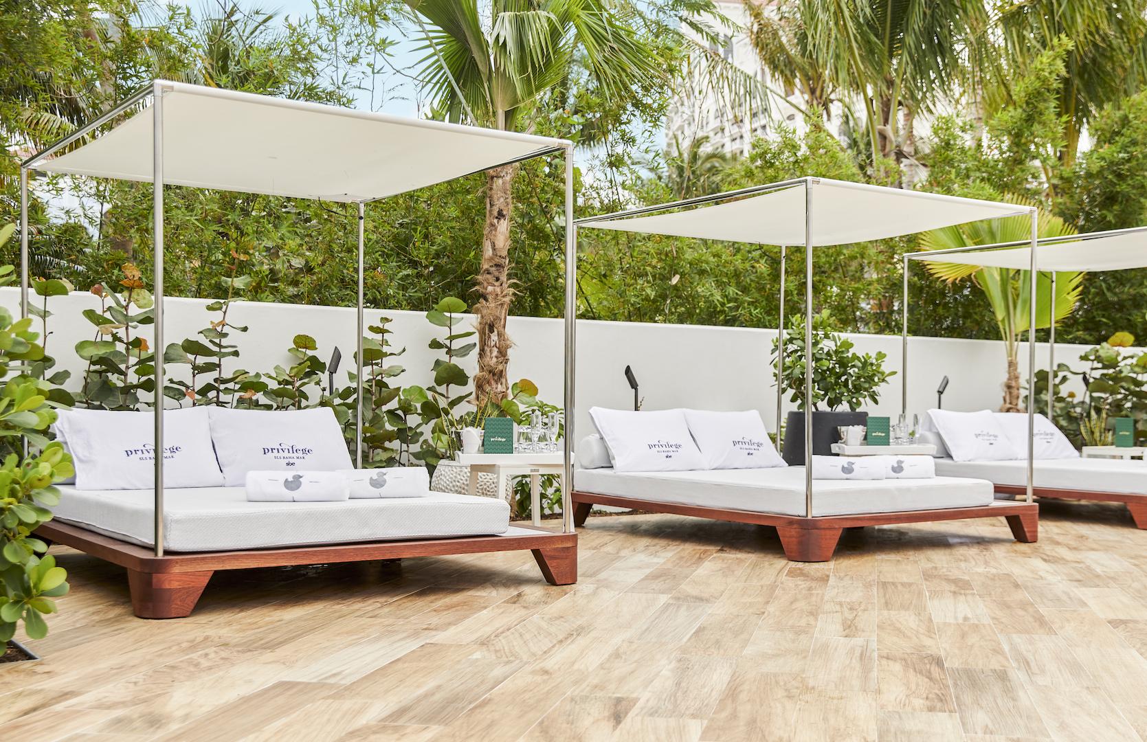 Seora - SLS Baha Mar Grand Belvedere day beds - Masha Shapiro Agency UK.jpg