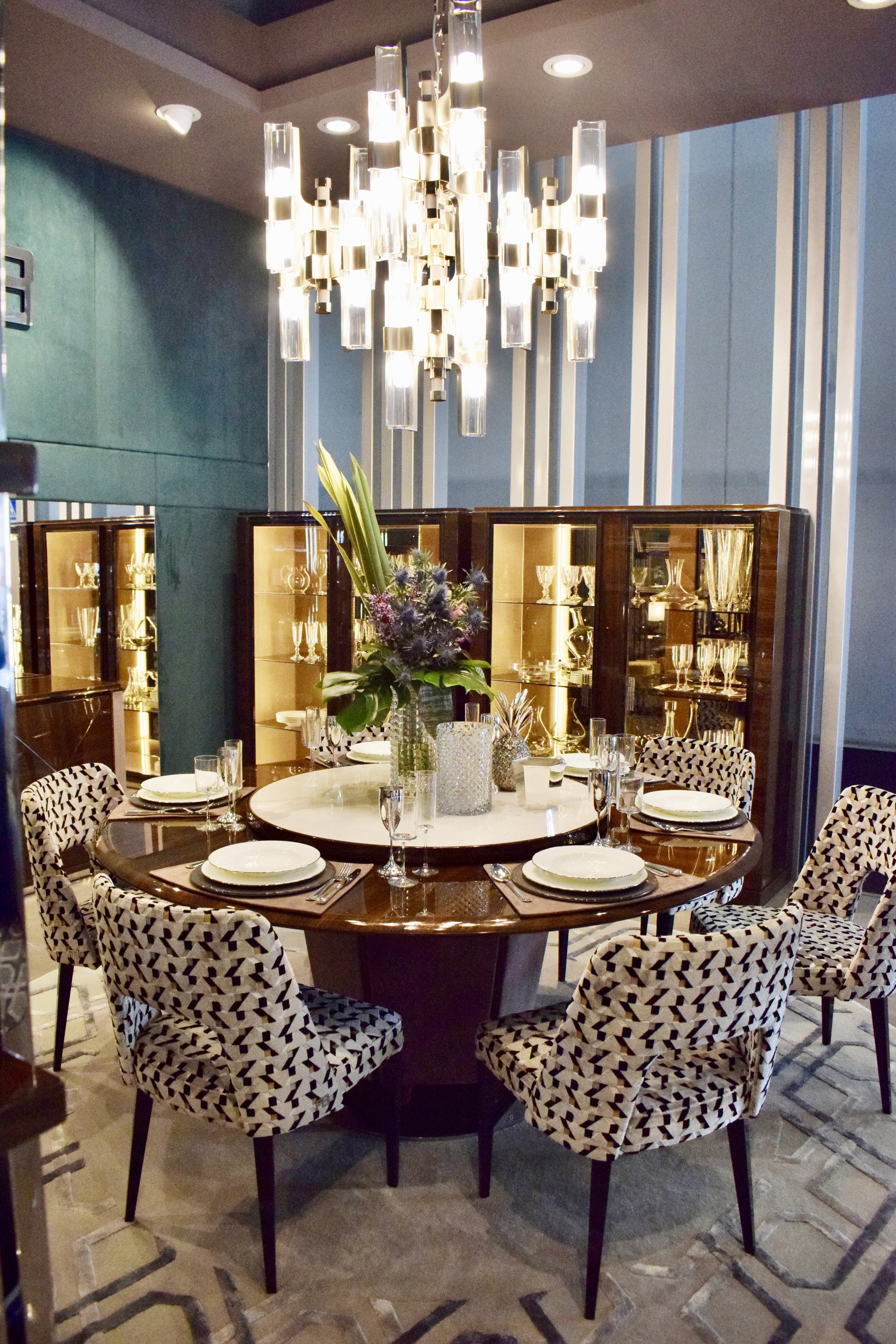 Let's talk about lead time by Officina Luce via Masha Shapiro Agency UK - dining room grandeur.jpg