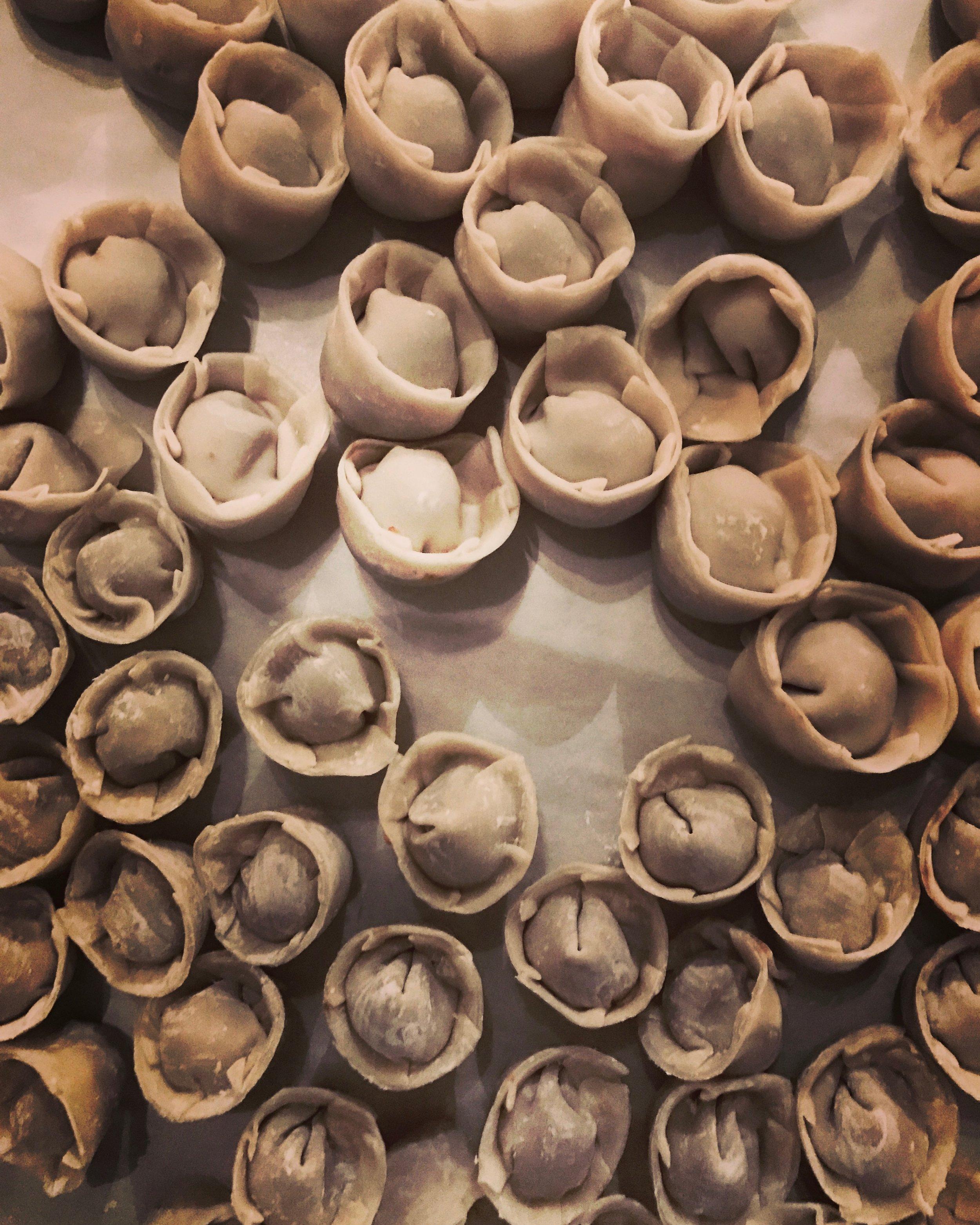 More Hand Made Dumplings