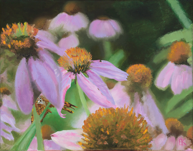 """Angustifolia""  11 x 14 inch, oil on canvas."