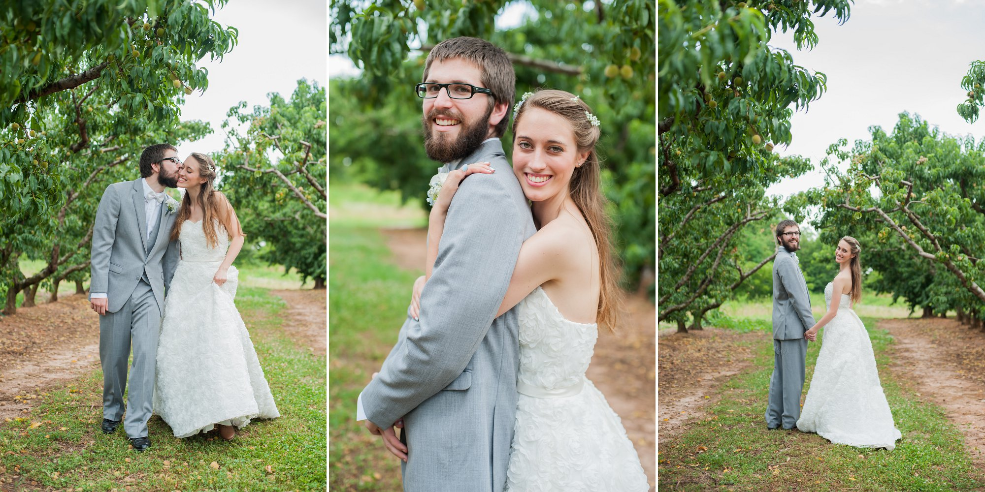 """(While walking) """"Josh give Angela a kiss on the cheek""""  """"Josh face the trees, Angela put your right hand around Josh's waist and the left one under his arm and lay your head down softly"""" (Typically we mimic the motion as we explain poses like these)   (Far right) """"Turn around walk the other way, now stop and look at me"""""""
