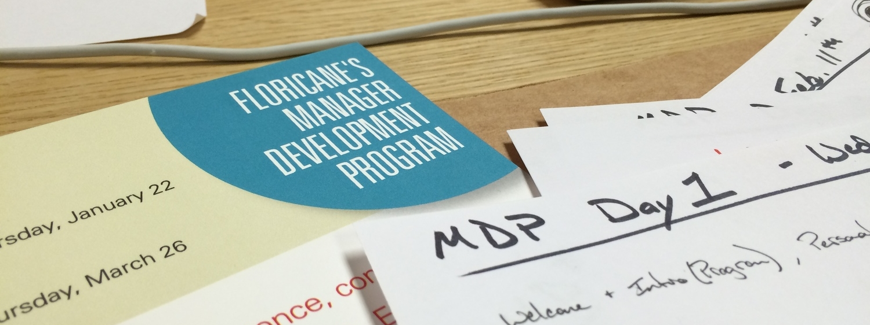 Manager Development Program Planning