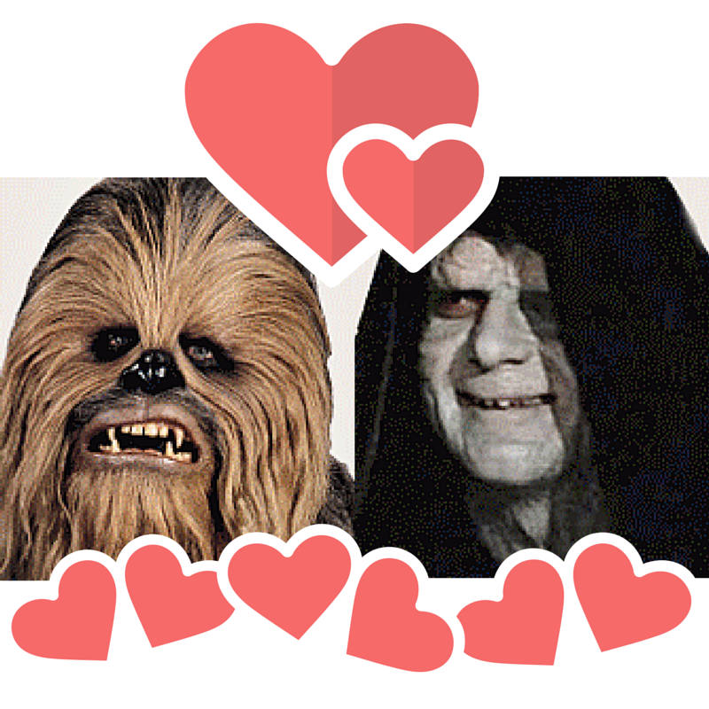 Chewbacca loves Palpatine