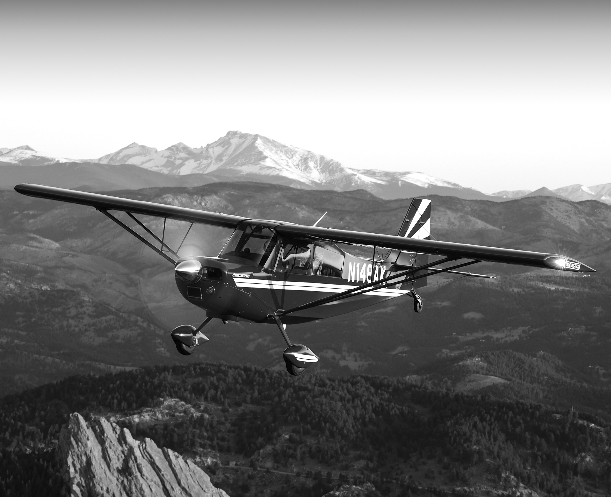 We use our aircraft for competition, transportation, and for staying deeply involved of with an ever-changing industry.