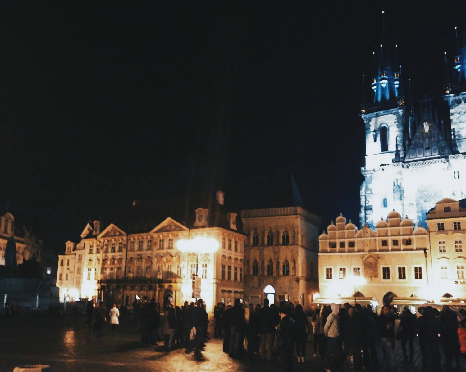{Old Town Square in all its beauty.}