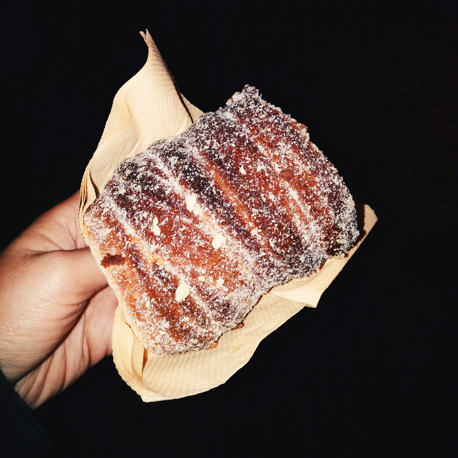 {Yum! You can also see that it's a little burnt.}